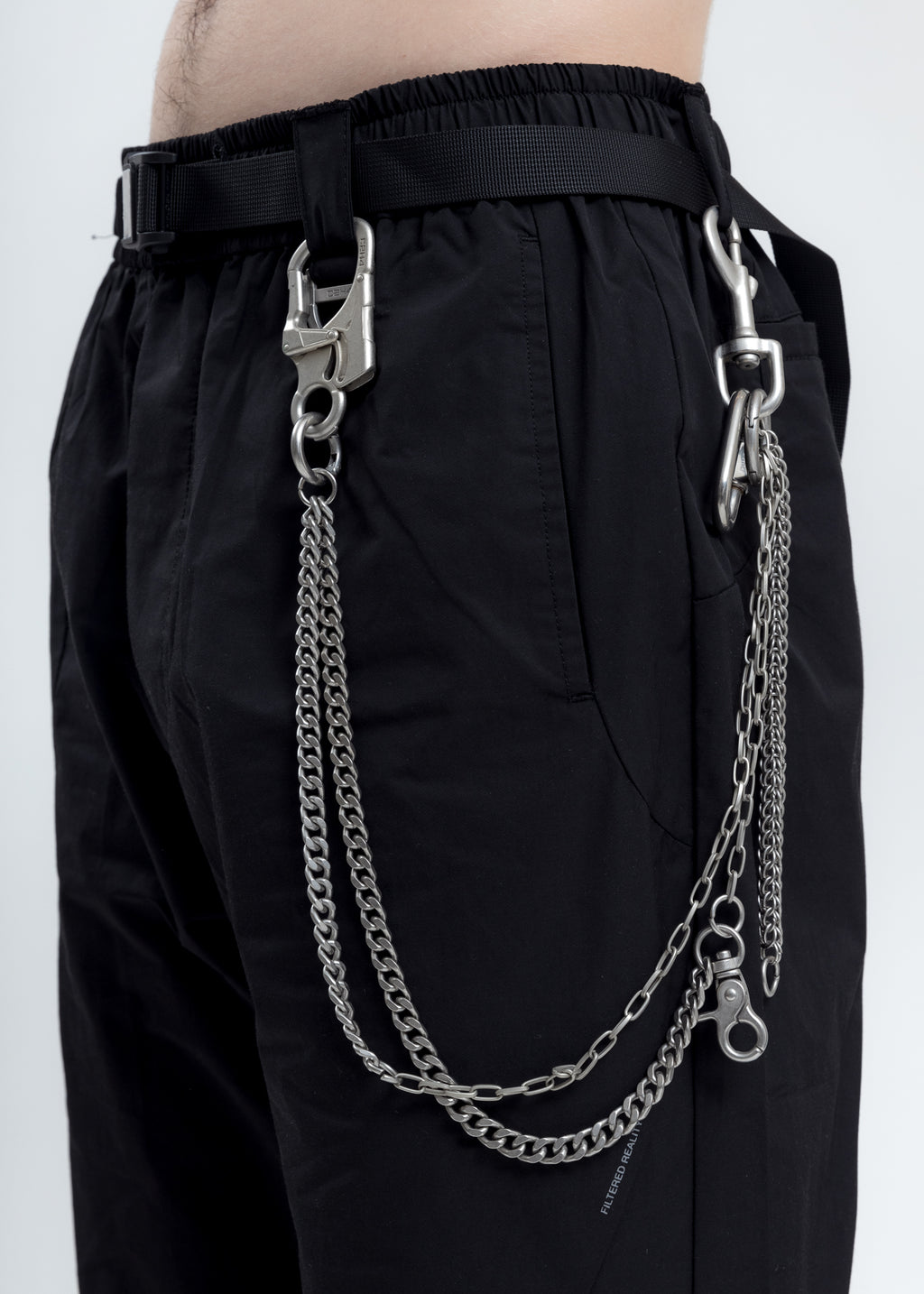 Multi Metal Combined Pants Chain