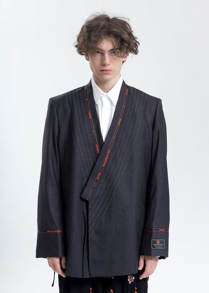 Charcoal Samue Tailor Made Jacket