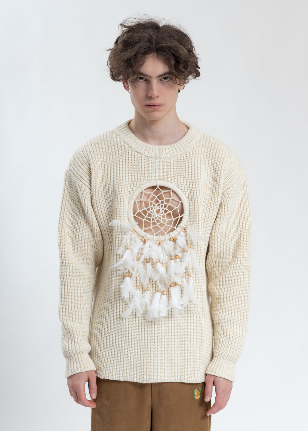 Ivory Dream Catcher Knitwear