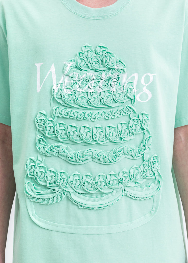 Mint Cake Embroidery T-Shirt