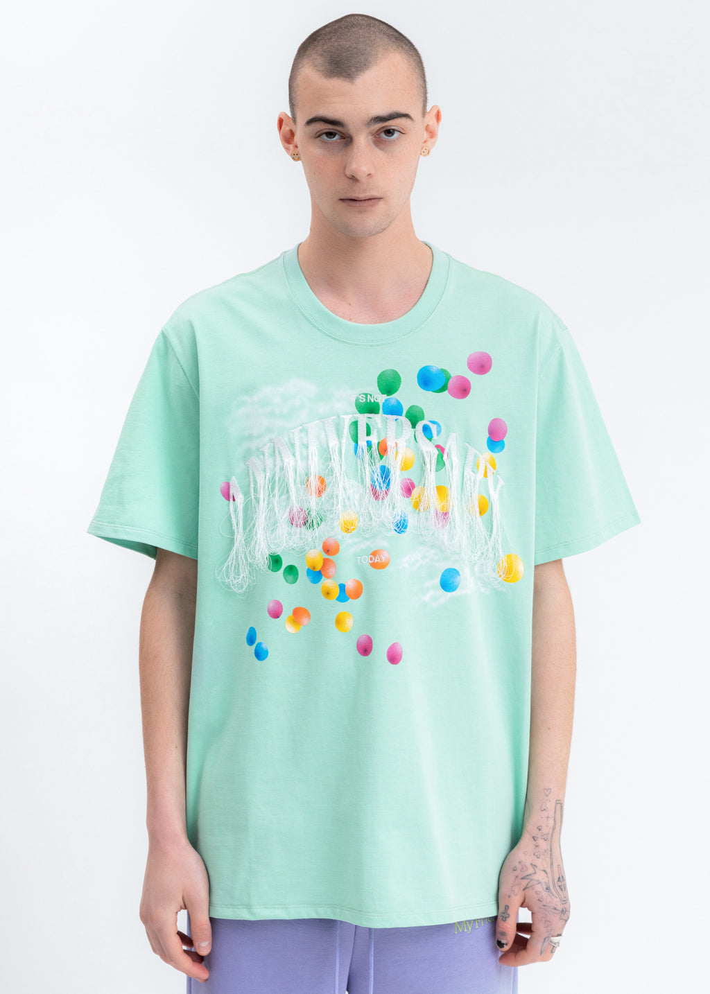 Mint Not Anniversary Embroidery T-Shirt