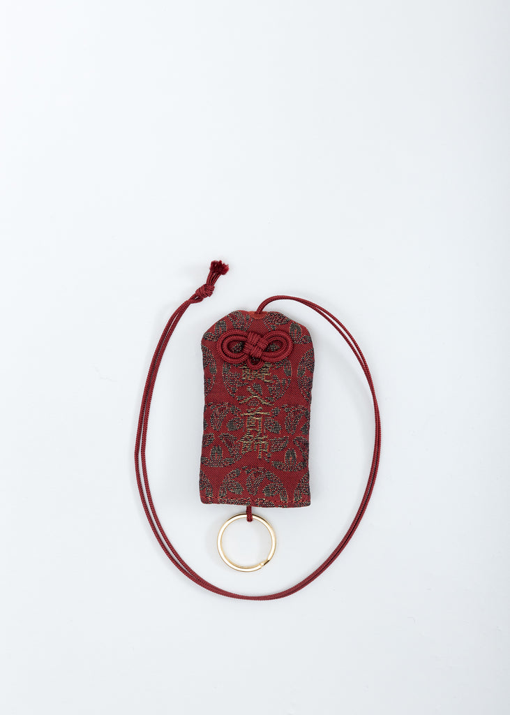 Red Omamori Necklace