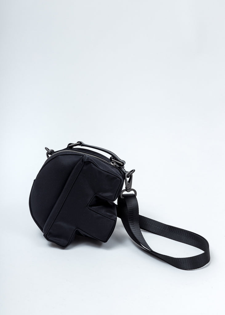 Black Nylon F Bag