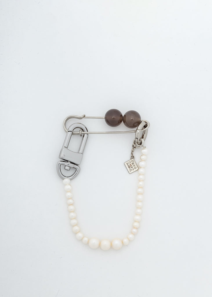 White Pearl Brooch