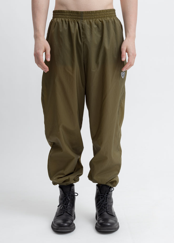 Khaki Jogger With Shield Logo