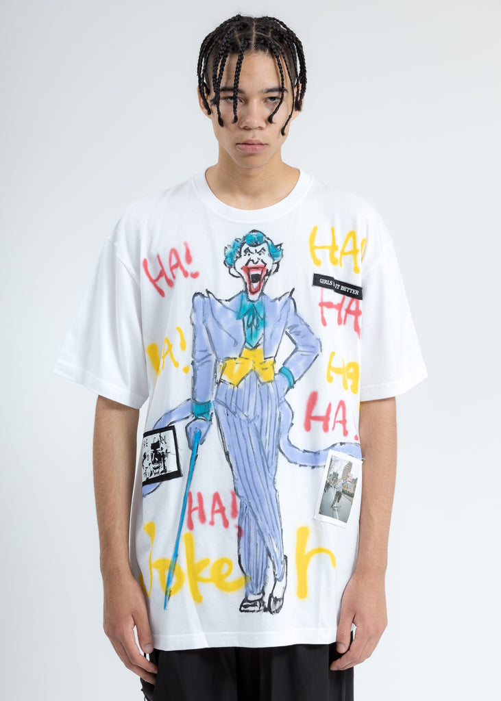 White Paint T-Shirt (Joker)