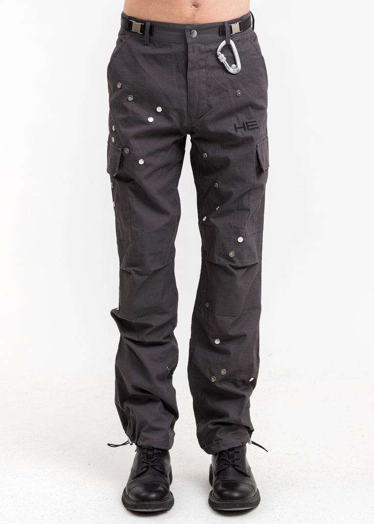 Grey Morphed Cargo Pants