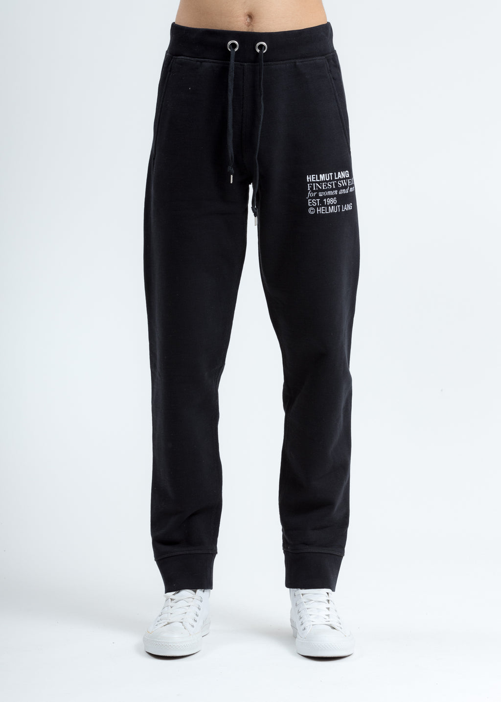 Black Finest Masc Sweat Pants