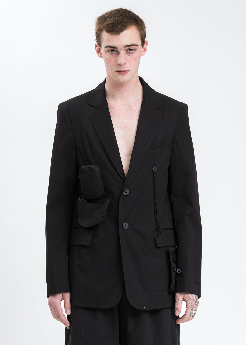 Black Detachable Jacket