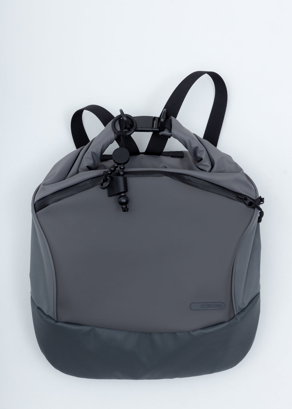 Grey Nylon Backsack
