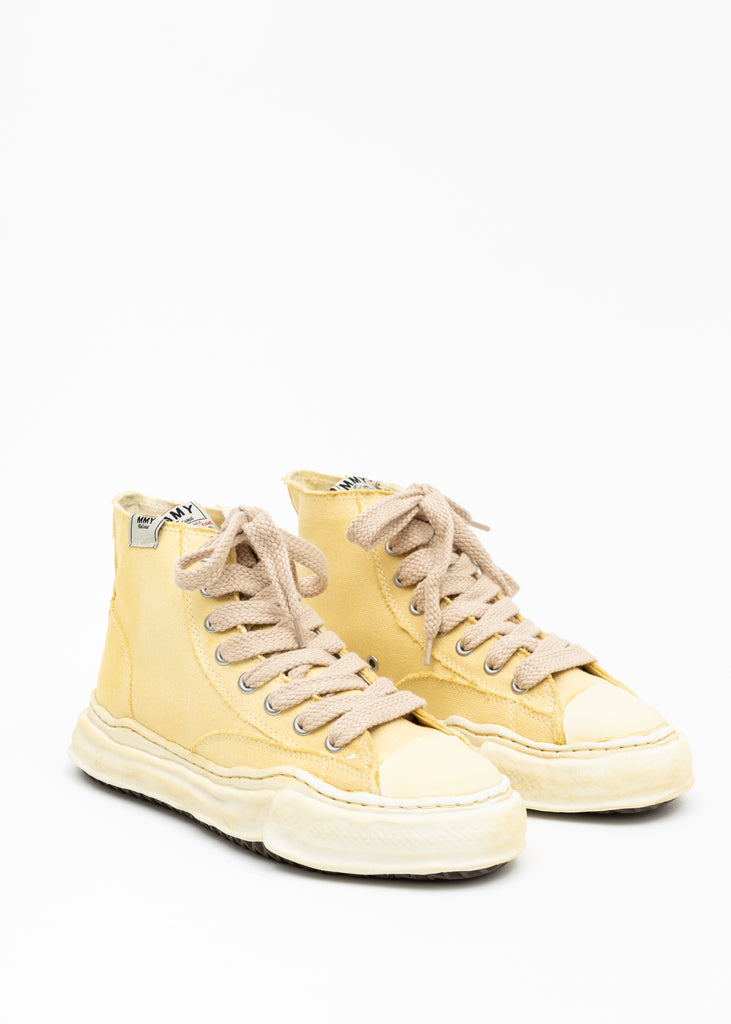 Beige Original Sole Overdyed Canvas Sneaker (PETERSON HI)