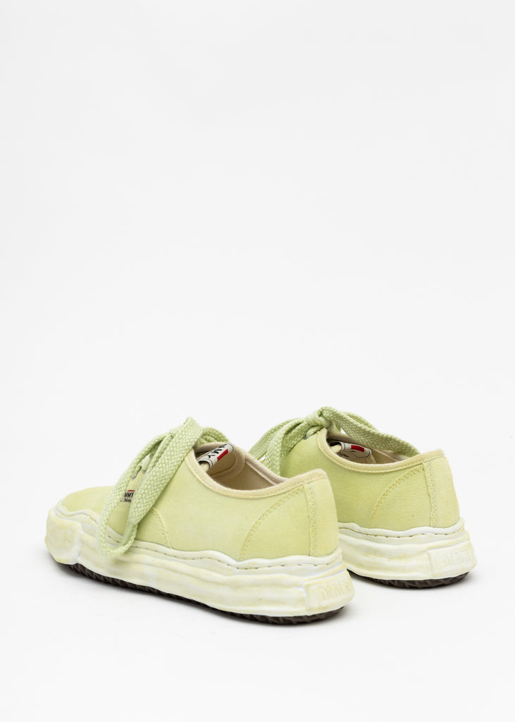 Green Original Sole Overdyed Canvas Sneaker (BAKER)