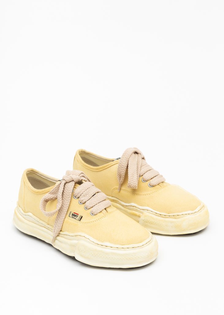 Beige Original Sole Overdyed Canvas Sneaker (BAKER)