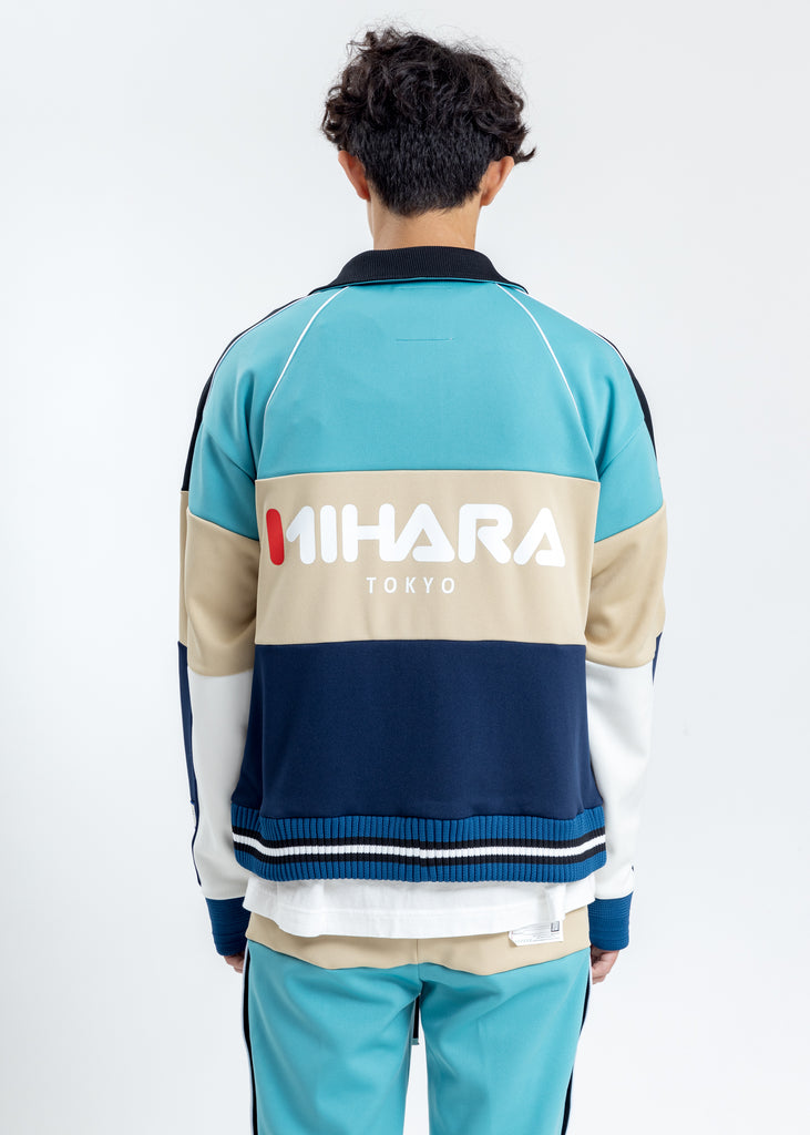 Blue Border Track Jacket