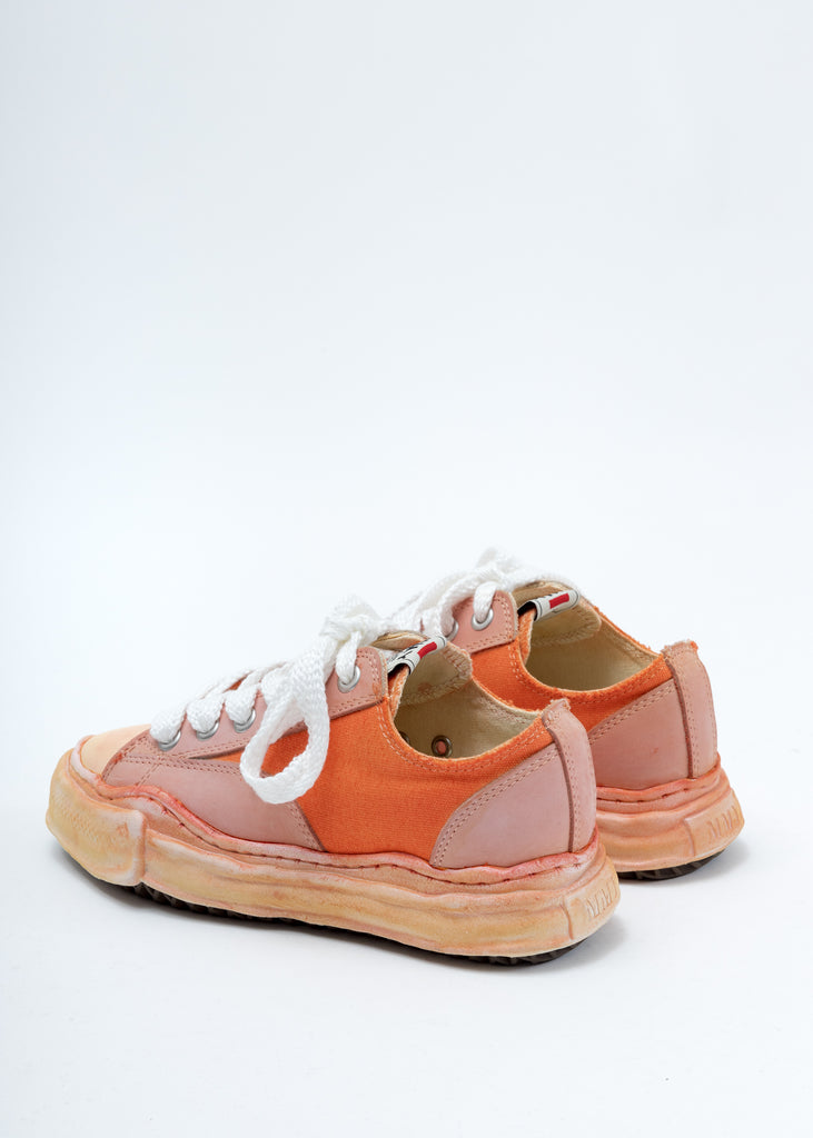 Orange Overdyed XL Original Sole Low Cut Sneaker