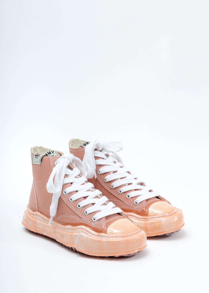 Pink Leather Original Sole Dip High Top Sneaker