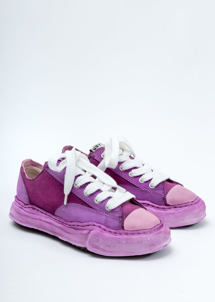 Purple Overdyed Original Sole Low Cut Sneaker