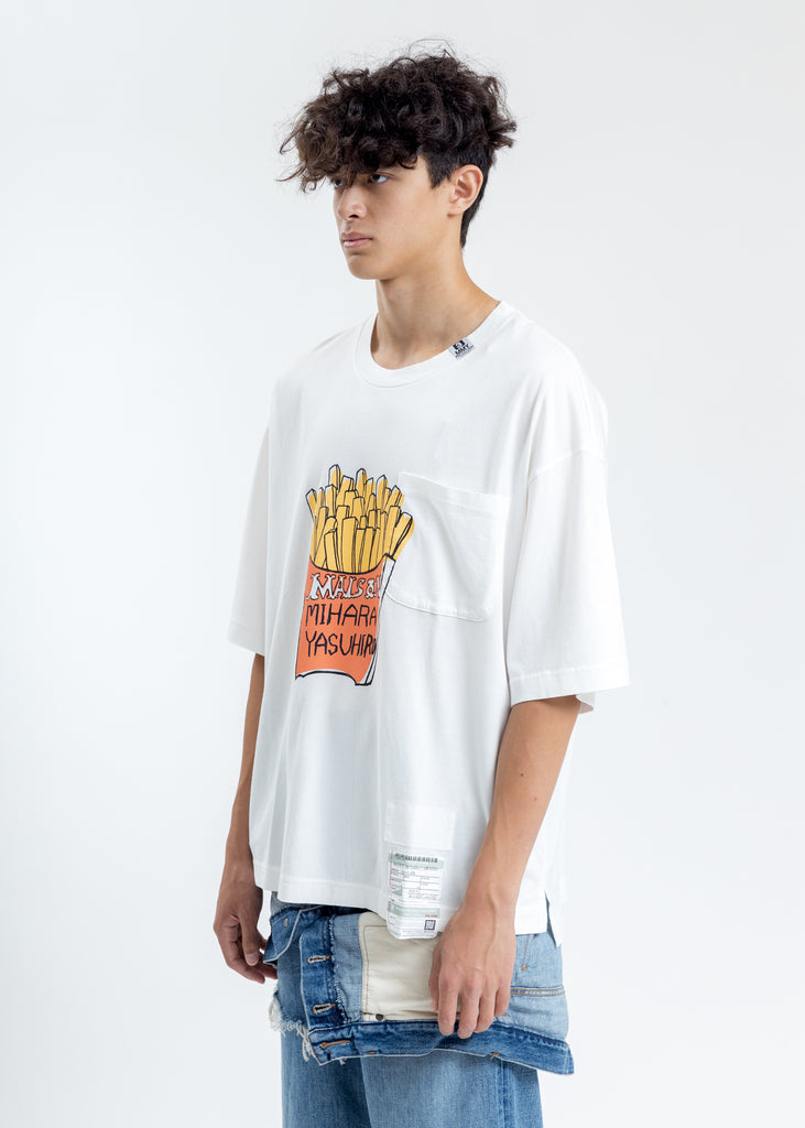 White Foods Printed T-Shirt