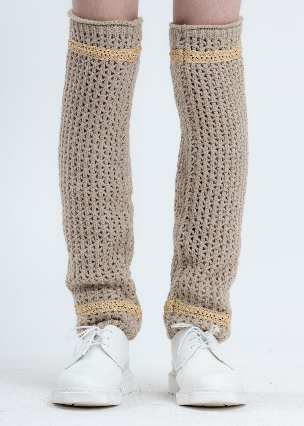 Beige Saint Leg Warmer