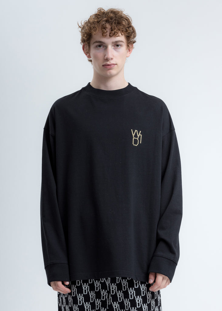 Black Pearl Logo Long Sleeve Shirt