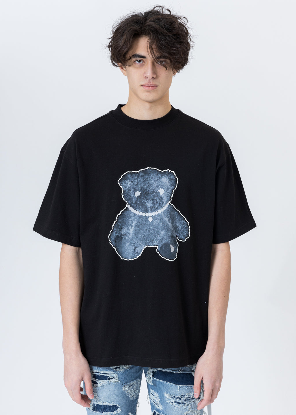 Black Pearl Necklace Teddy T-Shirt (Reflect)