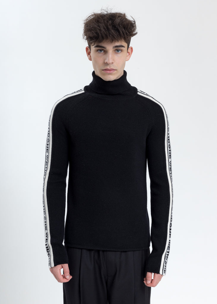 Black Side WE11DONE Turtle Neck