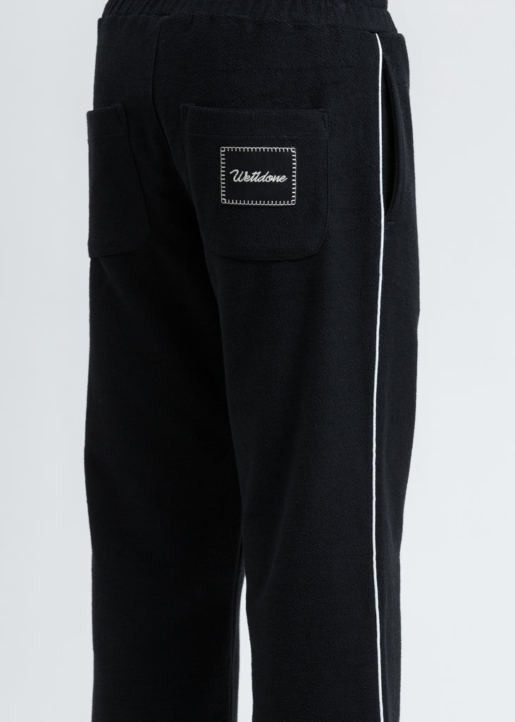 Black Zurry Pyjama Trousers