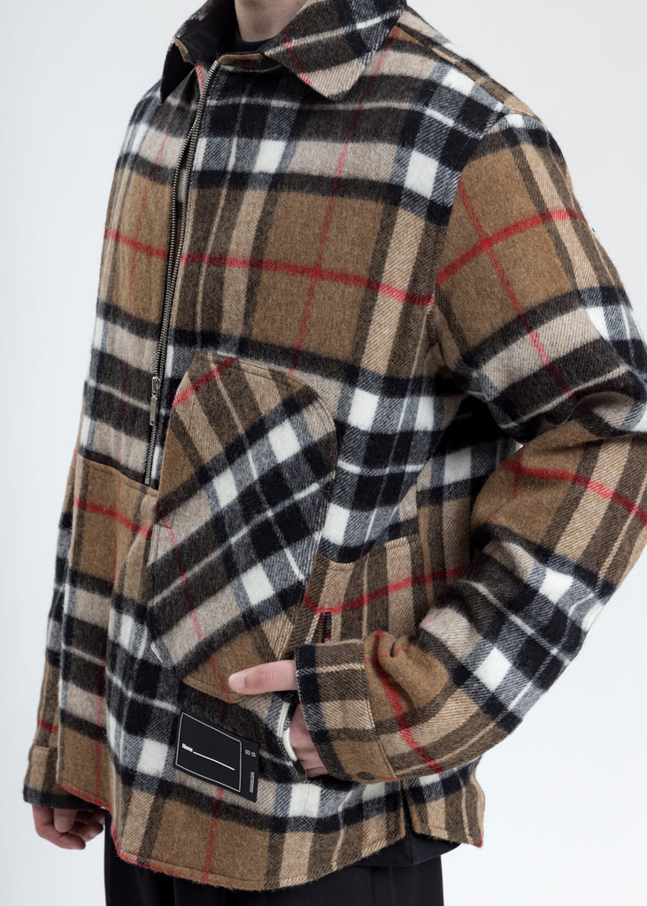 Camel WD English Check Anorak