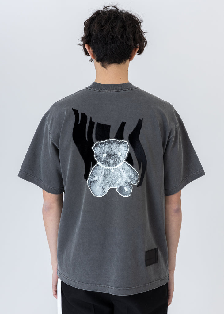 Charcoal Glow In The Dark Teddy T-Shirt