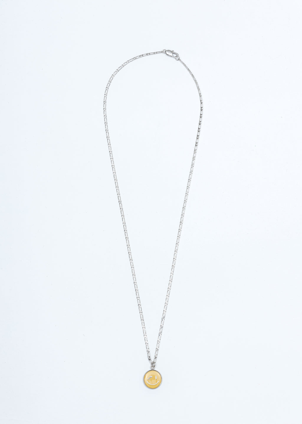 Silver We11done Smile Necklace