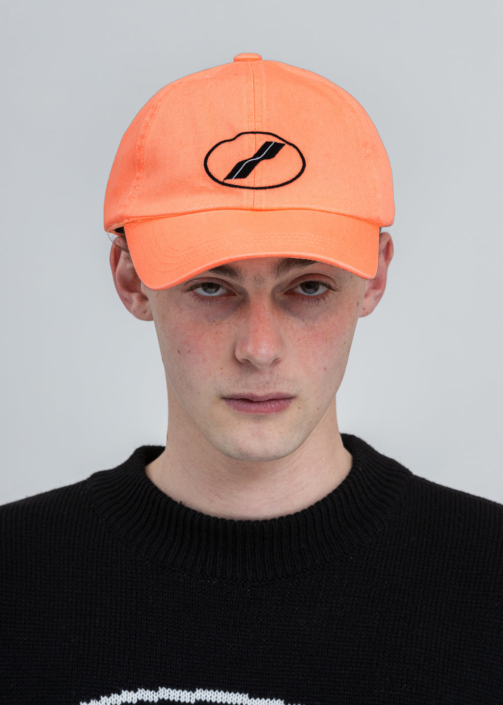 Neon Orange New We11done Cap