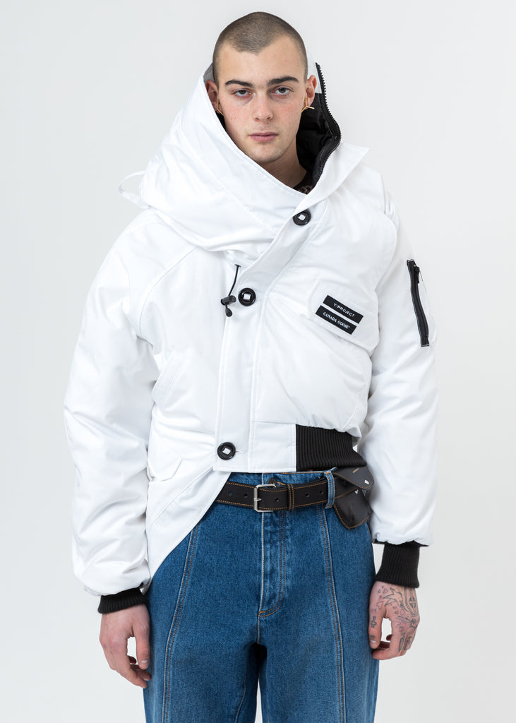 White Canada Goose Edition Down Chilliwack Jacket