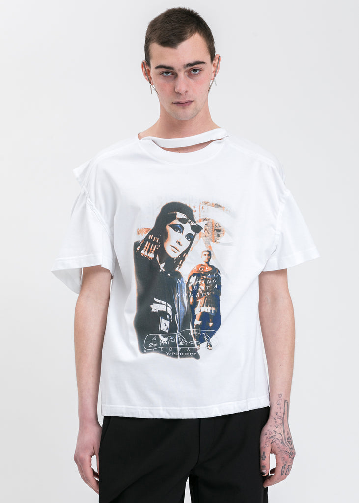White Convertible Cleo T-Shirt