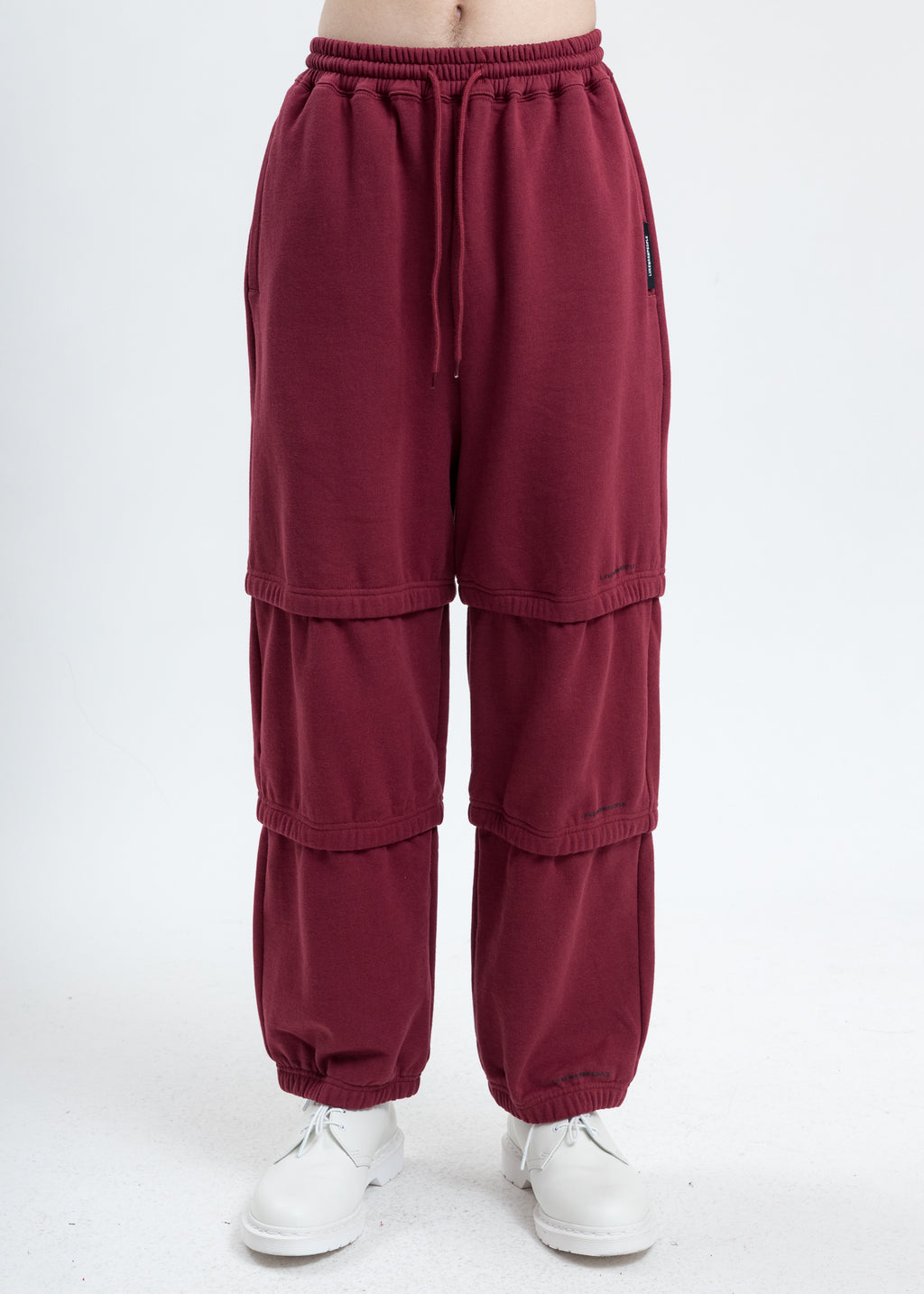 Burgundy Triple Layer Pants