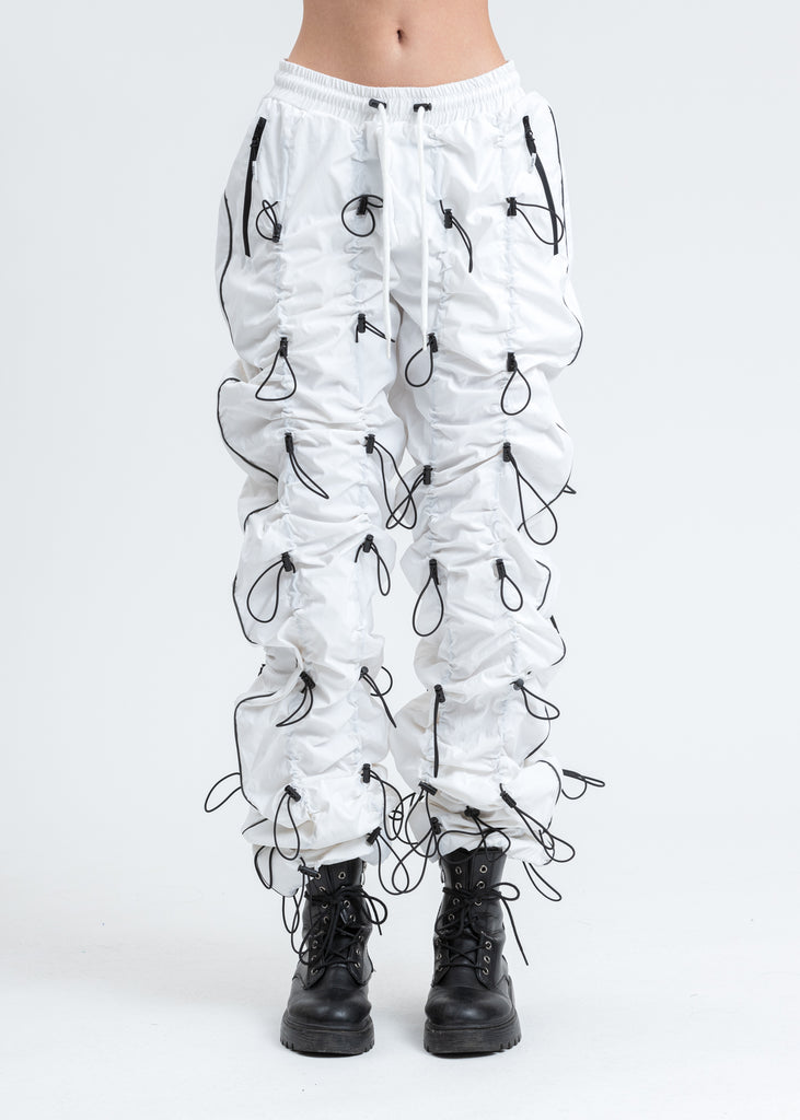 White And Black GOBCHANG Pants