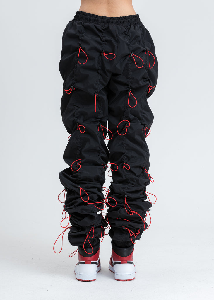 Black And Red GOBCHANG Pants