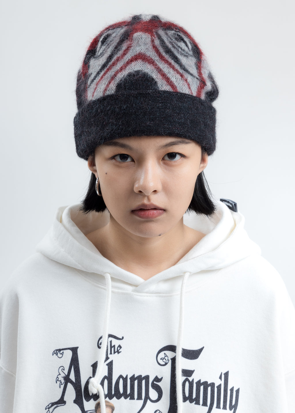 Navy Mask Knit Cap