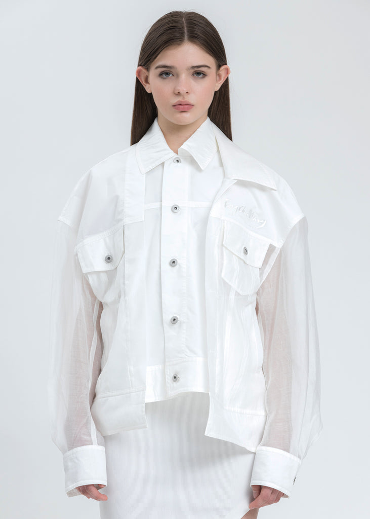 Transparent 2 in 1 Jacket