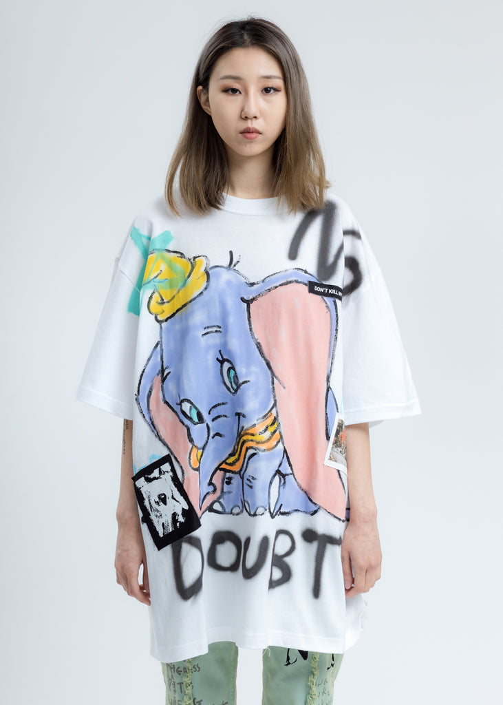White Paint T-Shirt (Dumbo)