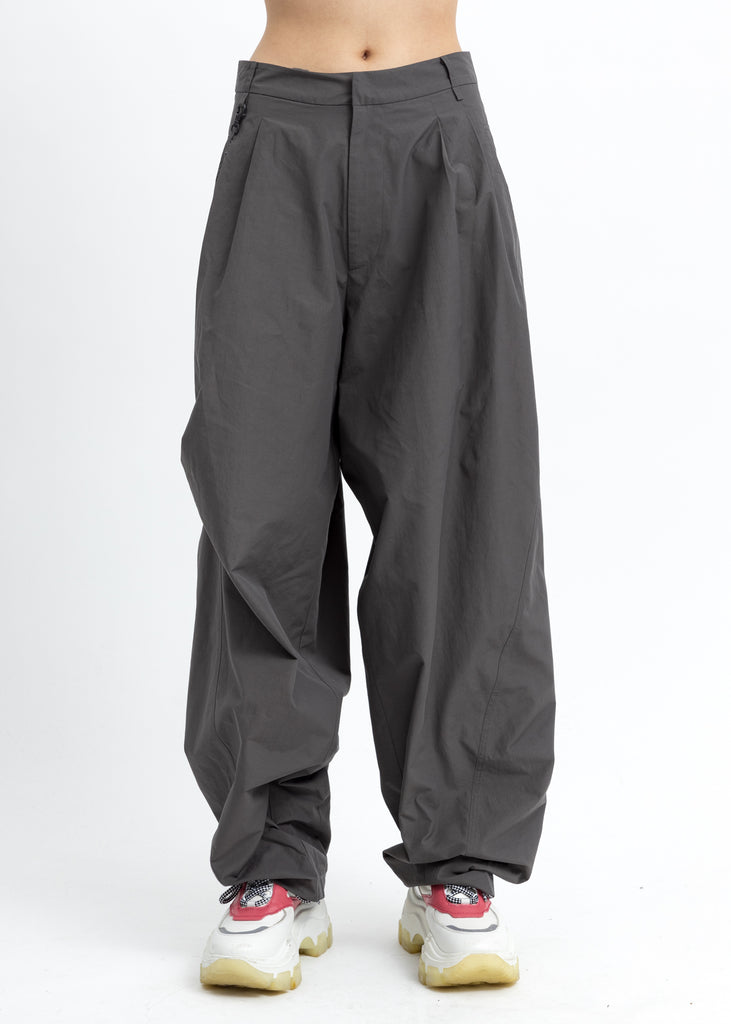 Slate Grey Chained Wide Pants