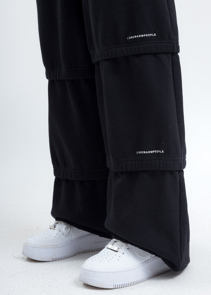 Black Triple Layer Pants