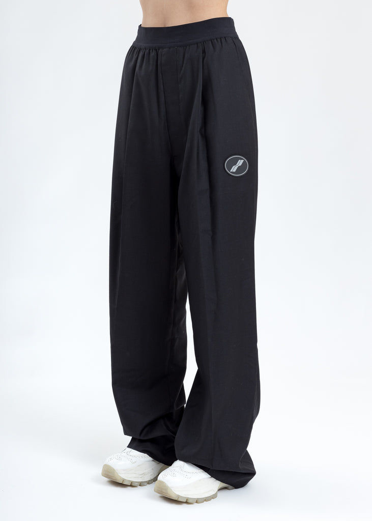Black Logo Trousers