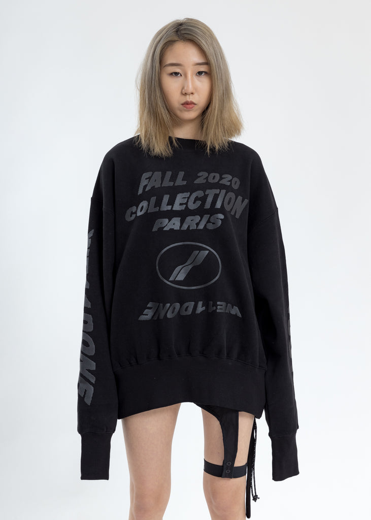 Black PF20 Collection Sweater