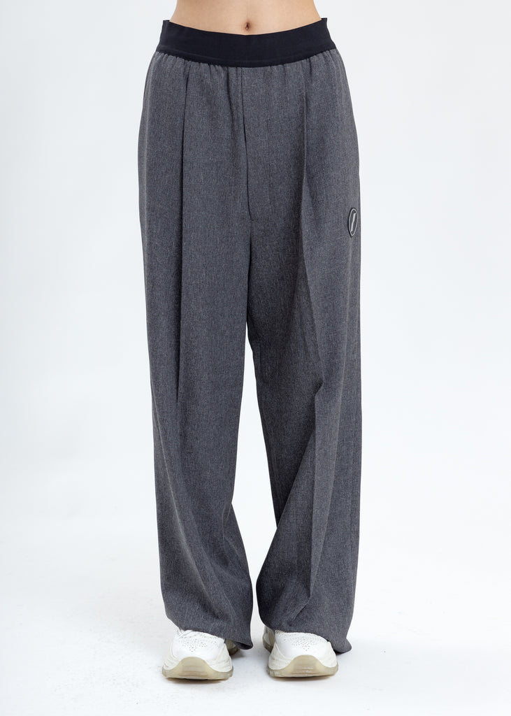Charcoal Logo Trousers