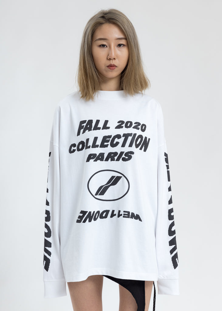 White PF20 Collection Long Sleeves