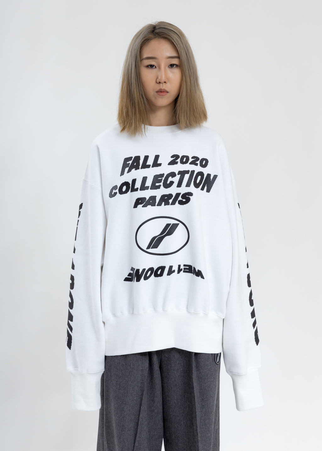 White PF20 Collection Sweater