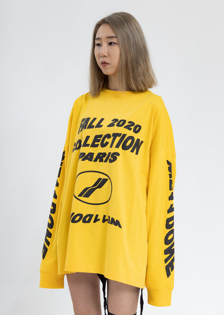 Yellow PF20 Collection Long Sleeves