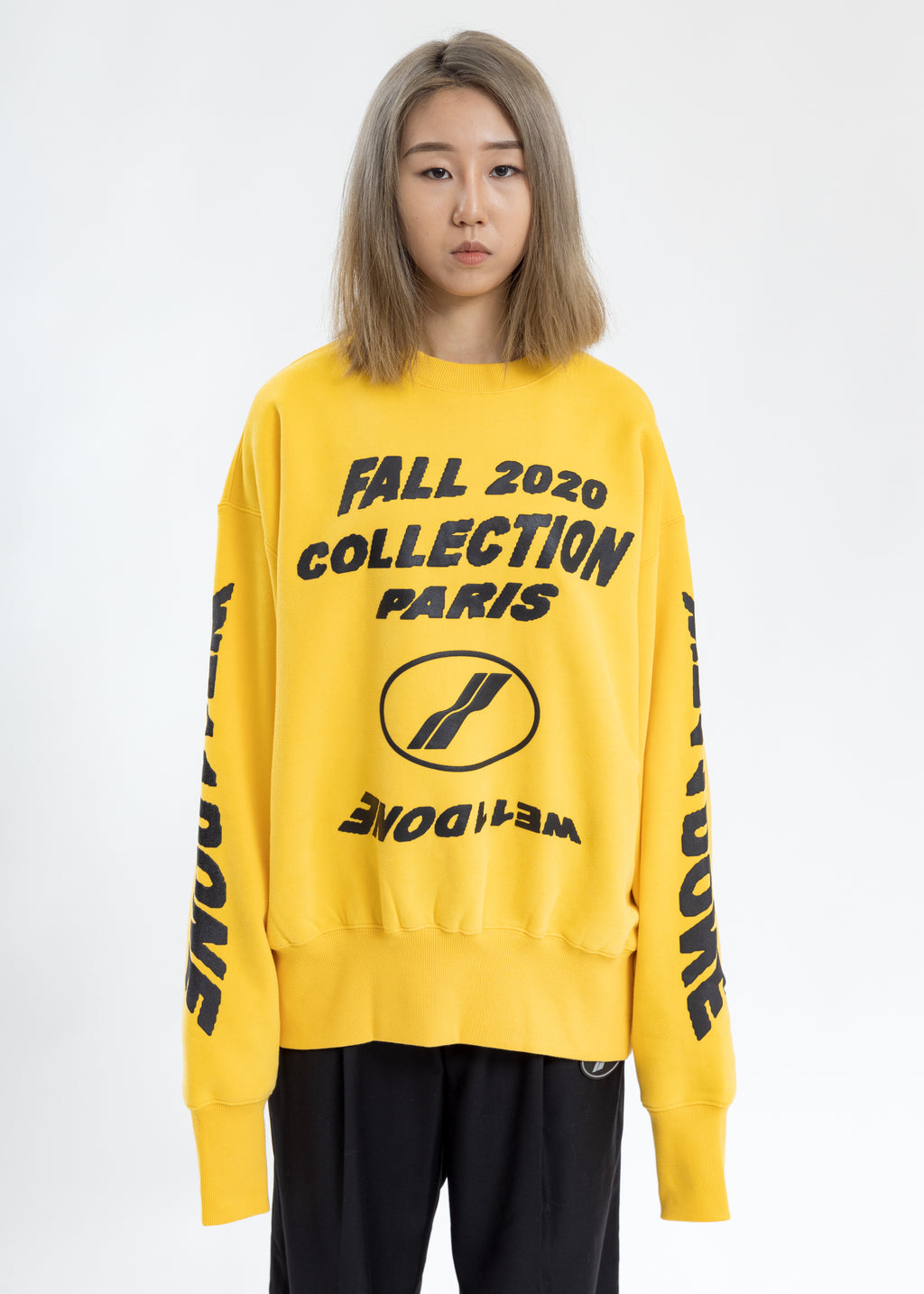 Yellow PF20 Collection Sweater