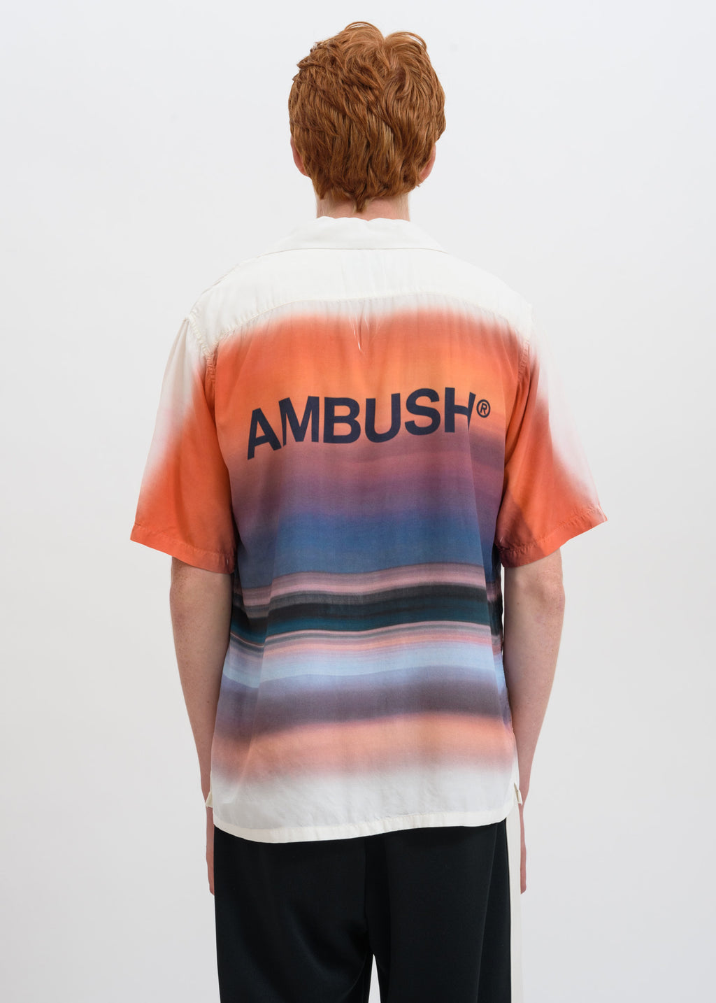 Ambush, Orange Hawaiian Shirt, 017 Shop