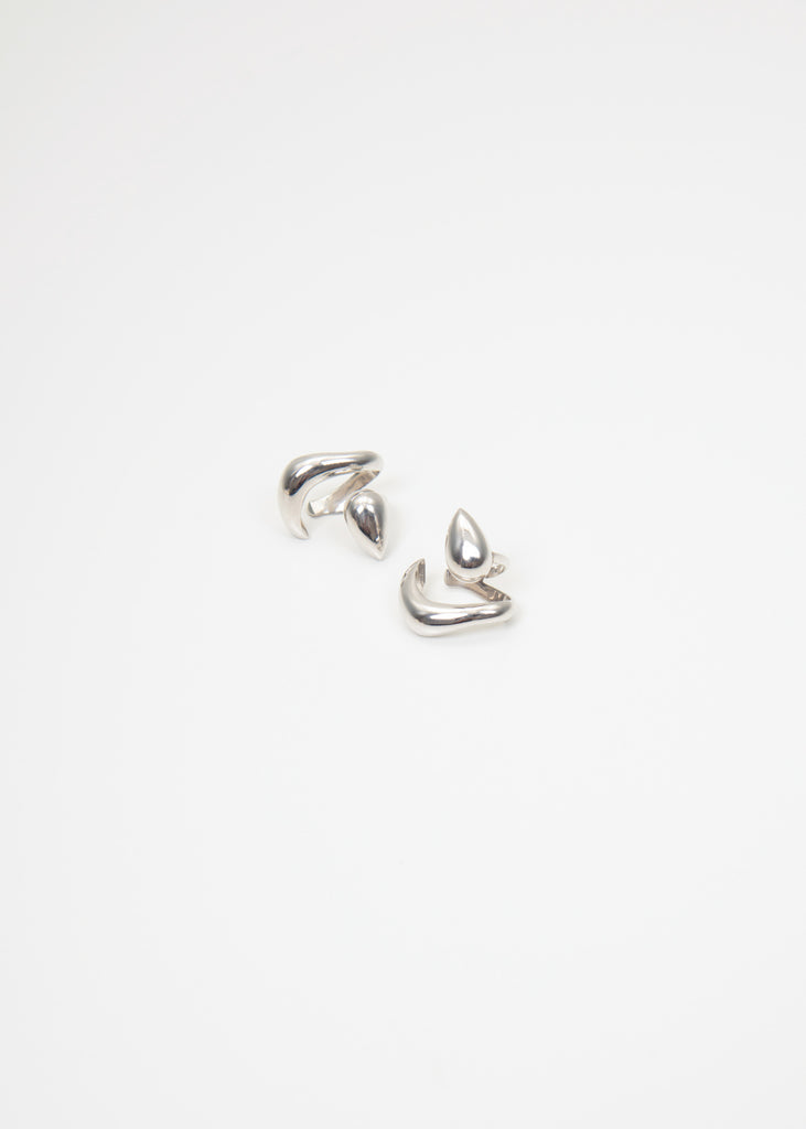 Silver 104 Ear Cuffs (Pair)